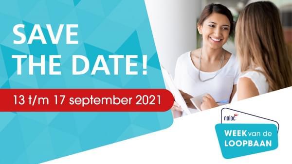 Week van de loopbaan: 13 t/m 17 september 2021